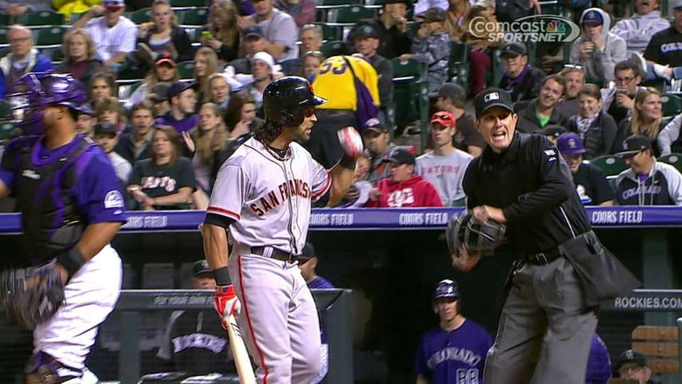 Pagan ejected for arguing