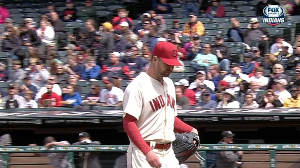 Kluber's dominant outing