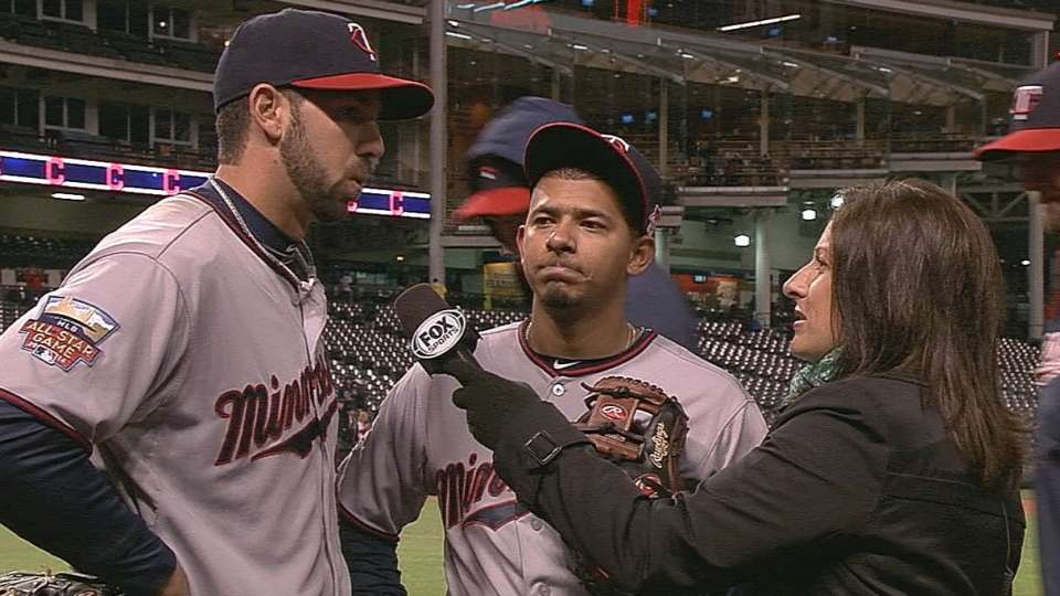 Twins on win over Indians