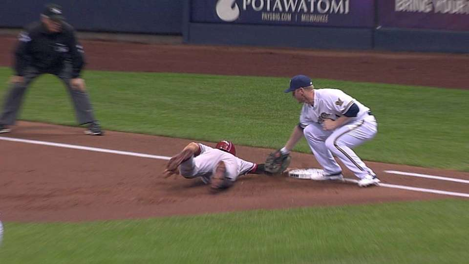 Call gets overturned at first