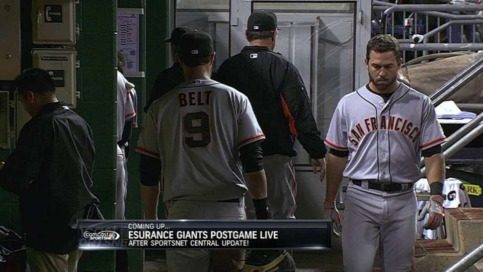 Giants fall on walk-off review