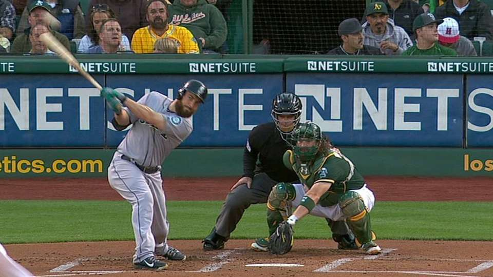 Ackley's RBI single