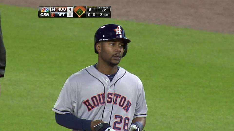 Hoes' RBI fielder's choice