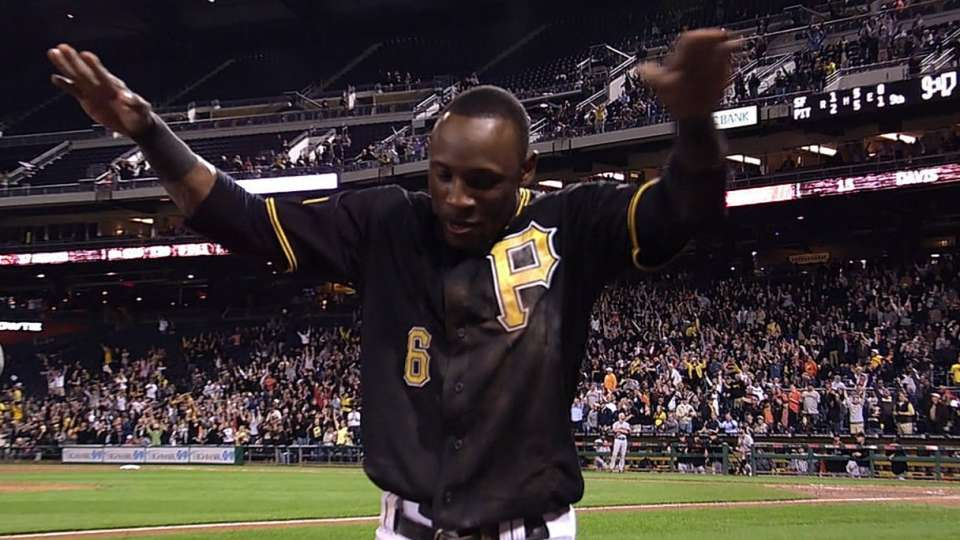 Pirates walk off after review