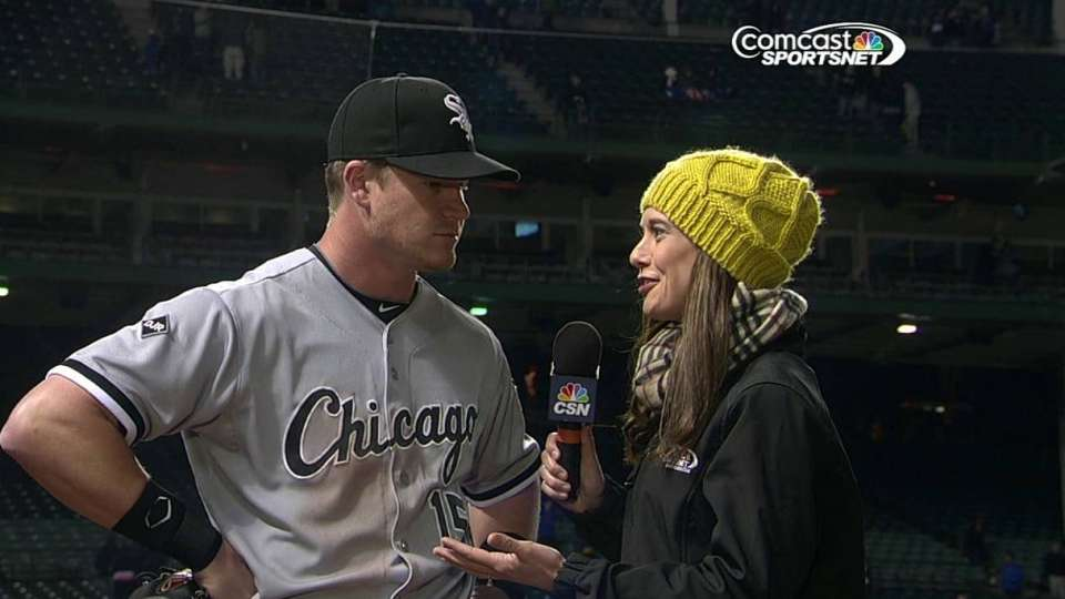 Beckham on the White Sox win