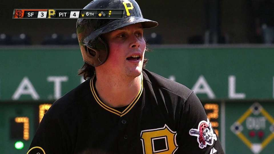 Snider's two-out triple