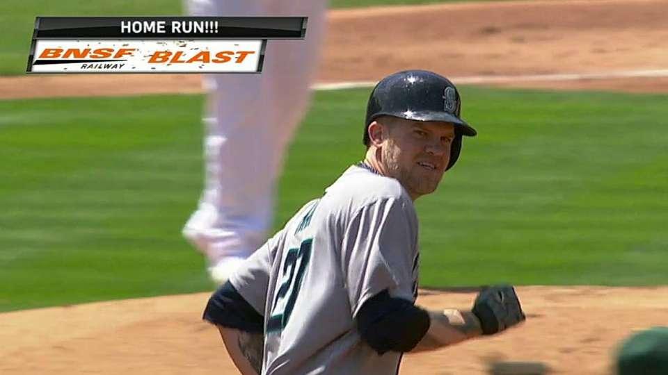 Hart's solo home run