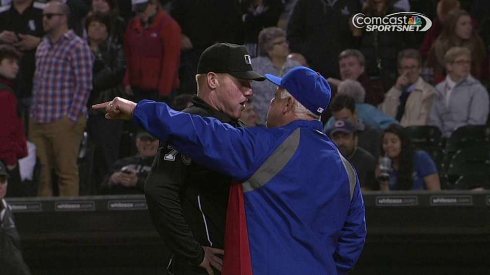 Renteria gets ejected