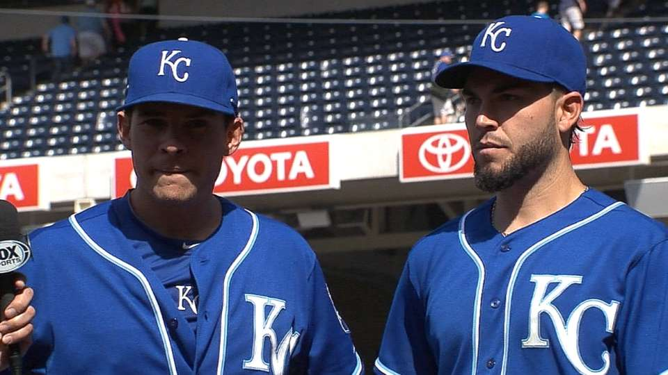Valencia, Hosmer on Royals' win