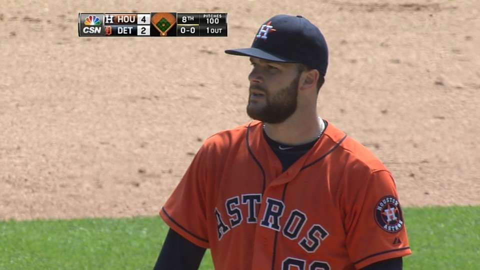 Keuchel's solid outing