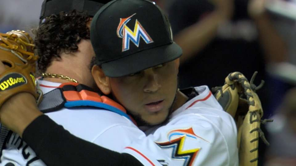 Nelson on the Marlins' rotation