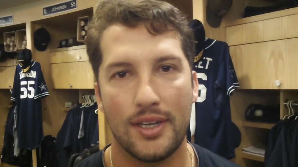 Huston Street on Mother's Day