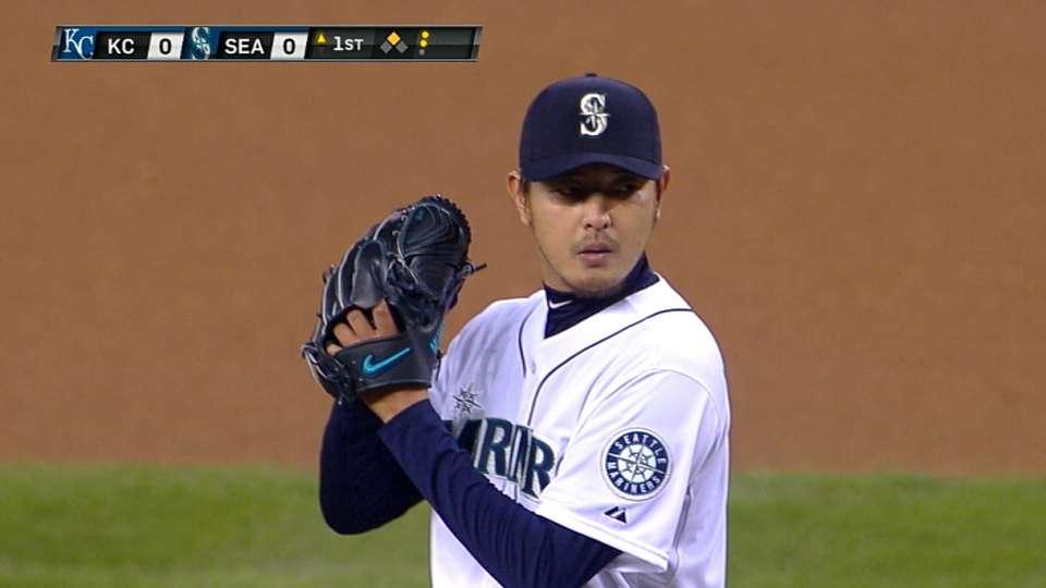 Iwakuma's eight shutout innings