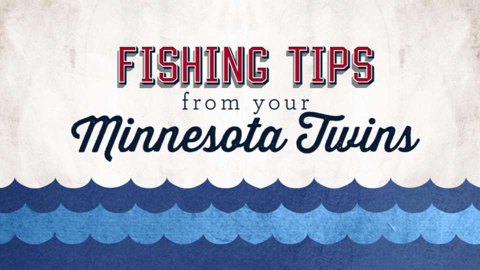 Twins dish out fishing tips