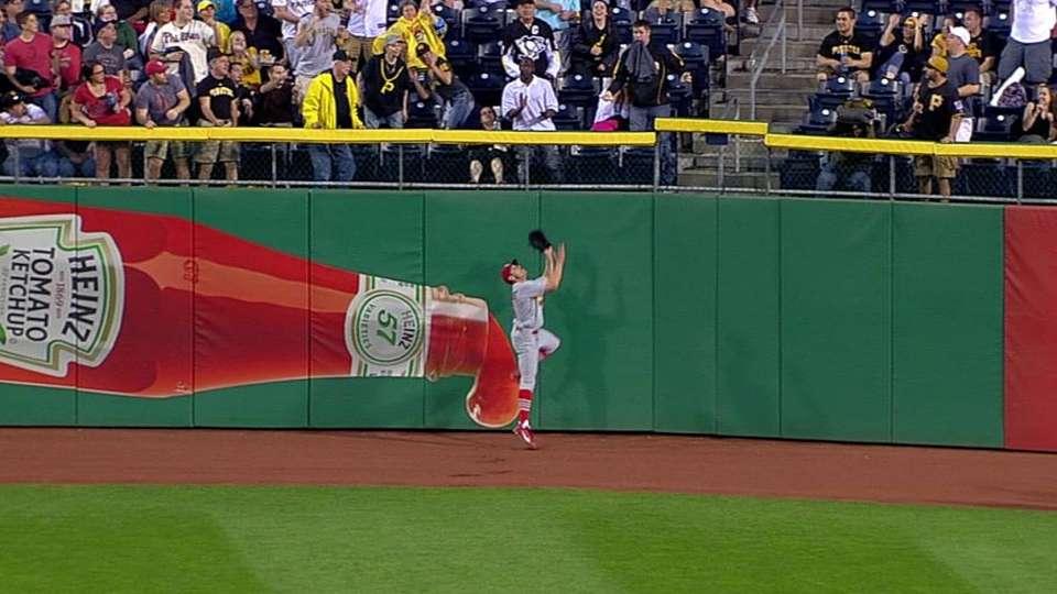 Bourjos' fantastic catch