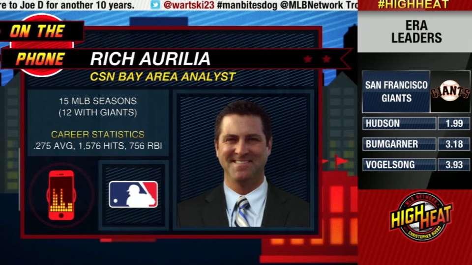 High Heat: Rich Aurilia
