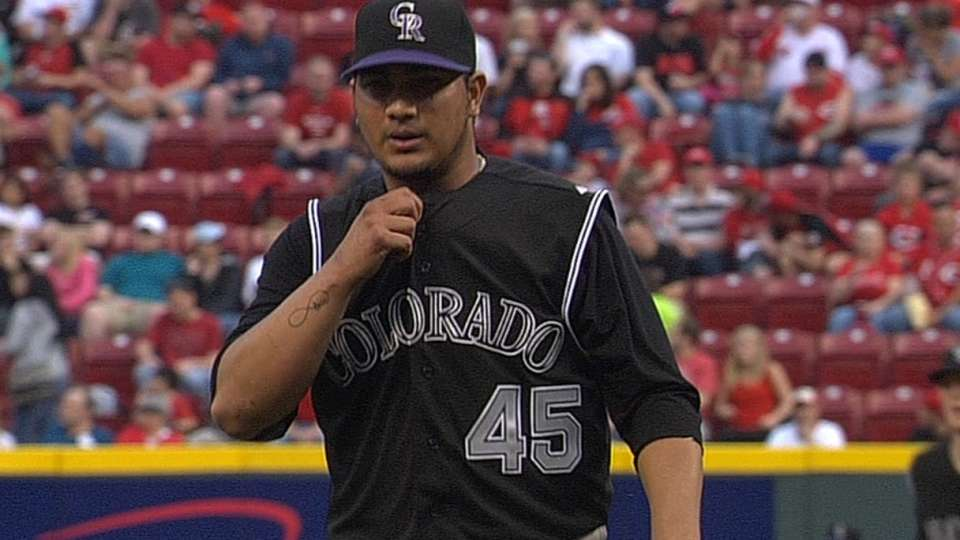 Chacin's solid start