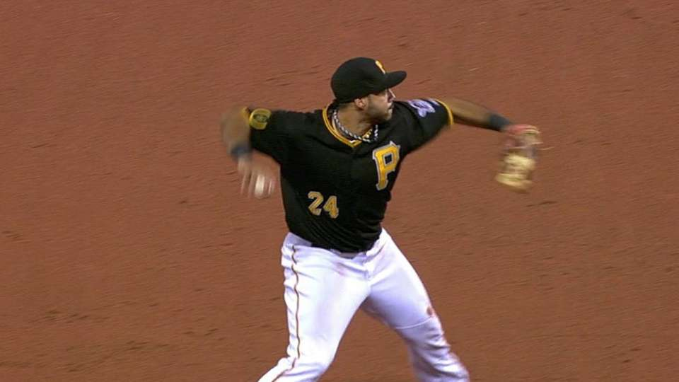 Alvarez flashes the leather