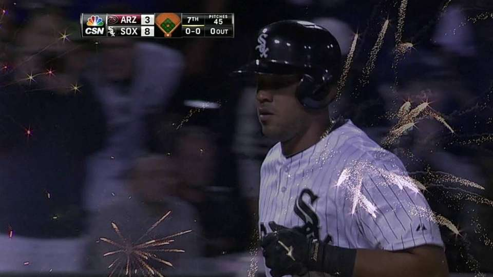 Abreu's big solo shot