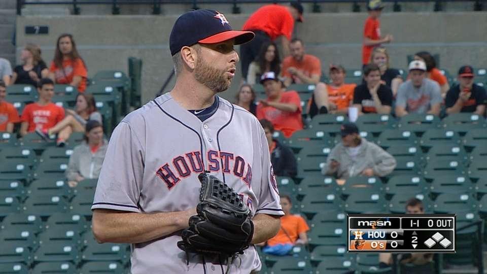 Feldman's solid pitching