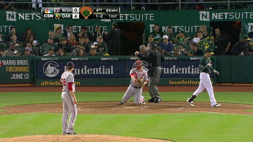 Fister strikes out Gentry