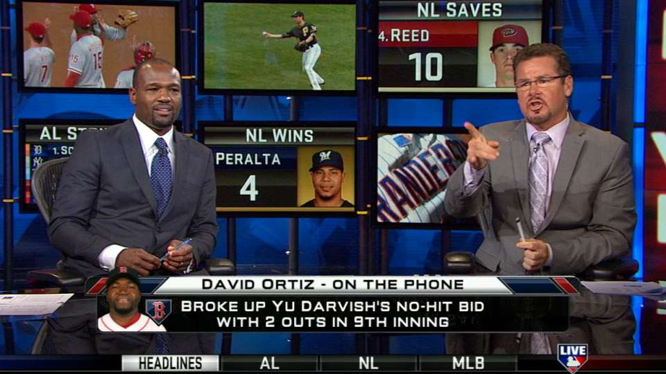 Ortiz on Darvish's outing