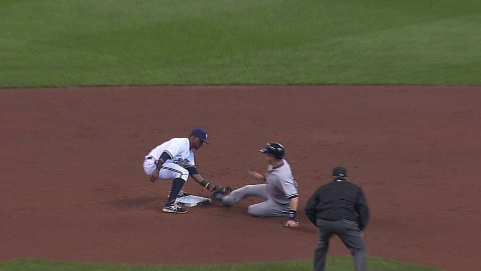 Lohse, Lucroy turn two