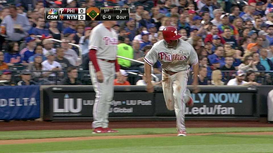 Utley's sac fly
