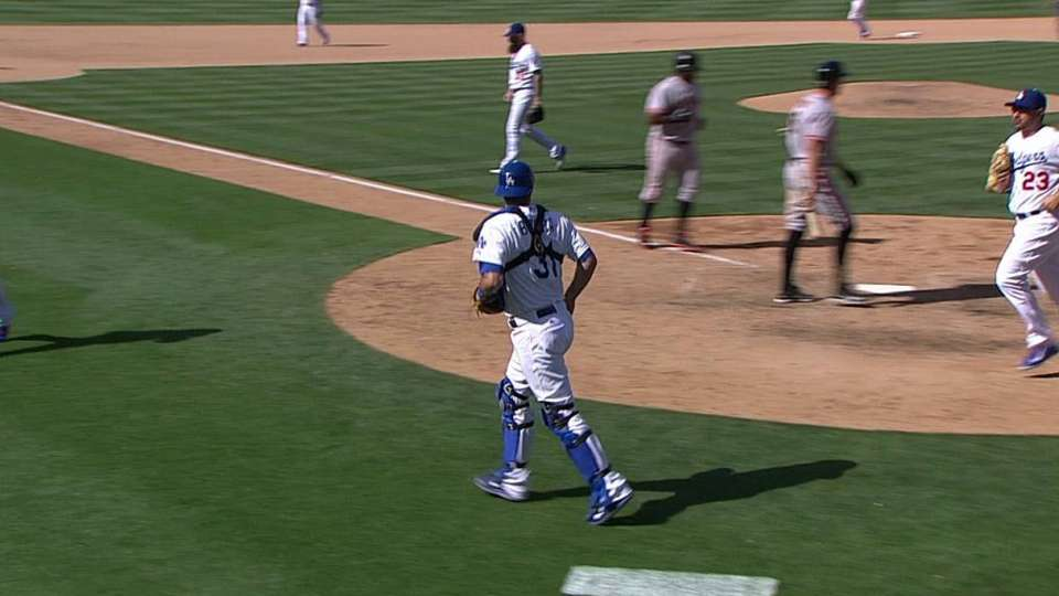 Wilson escapes bases-loaded jam