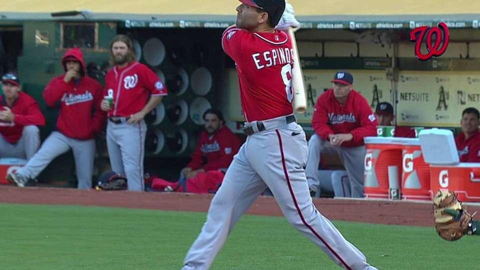 Espinosa's solo shot