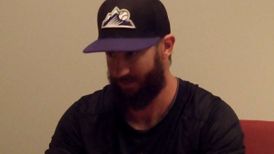 Meggie chats with Blackmon