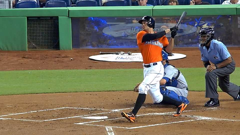 Stanton's bat is unstoppable