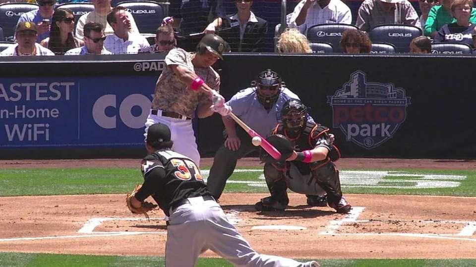 Venable's solo home run