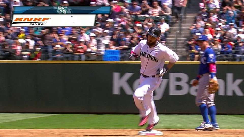 Ackley's solo homer