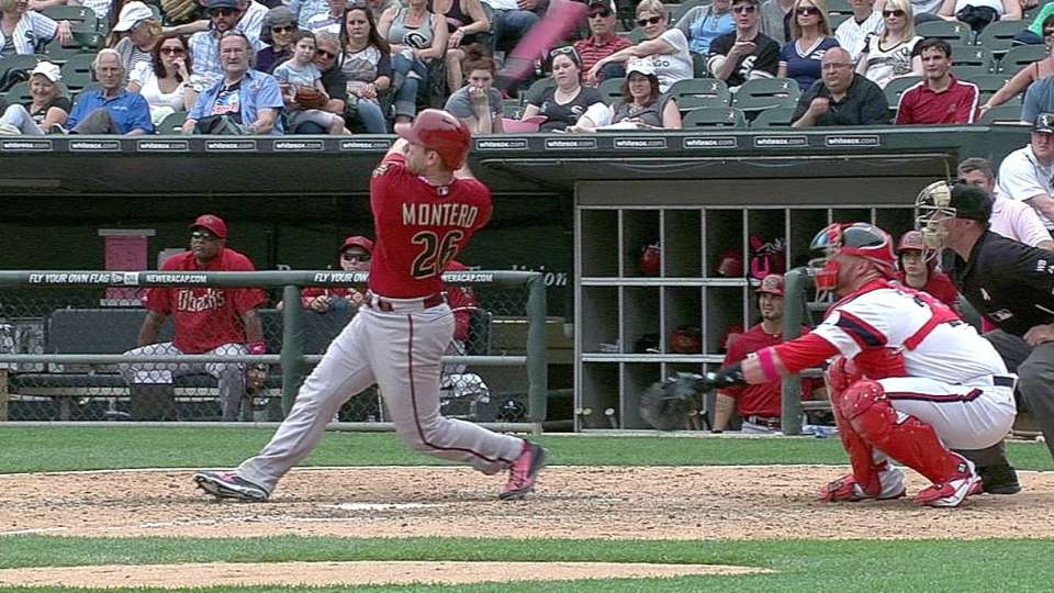 Montero's two-run homer