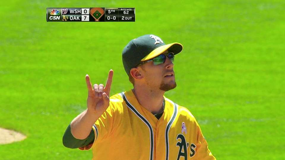 Lowrie's great stop