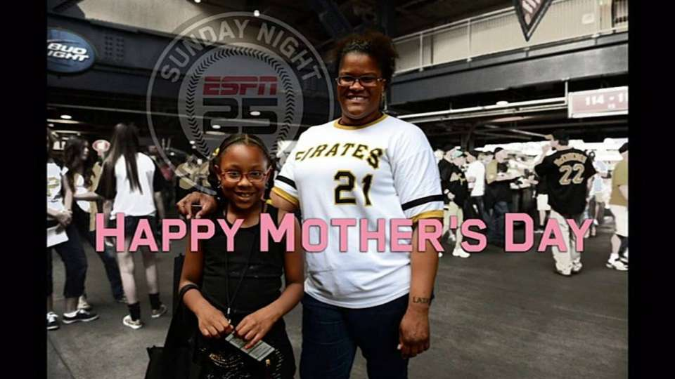 Fans celebrate Mother's Day