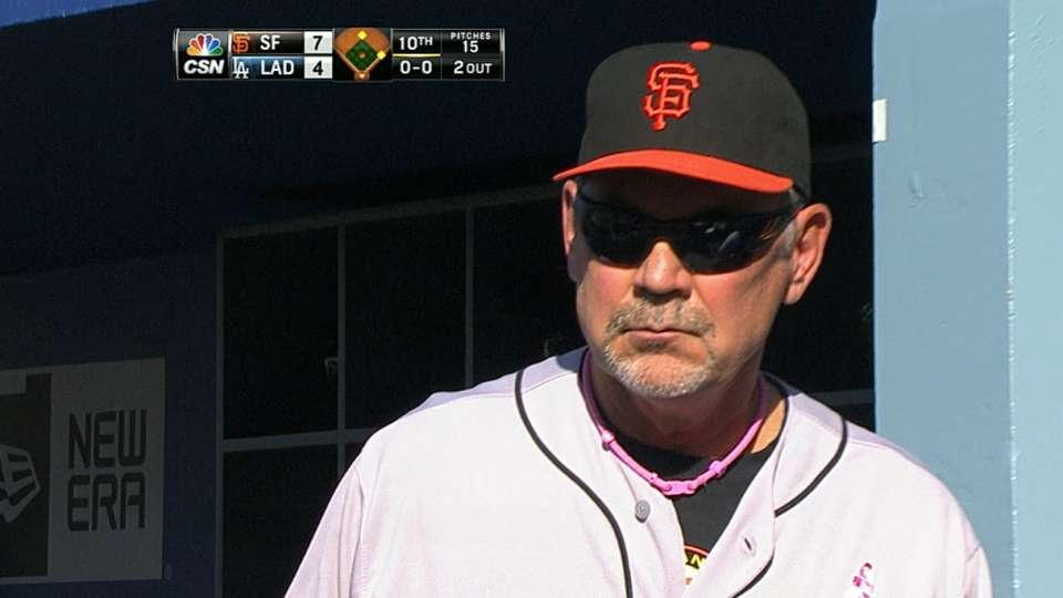 Bochy on Sandoval's confidence