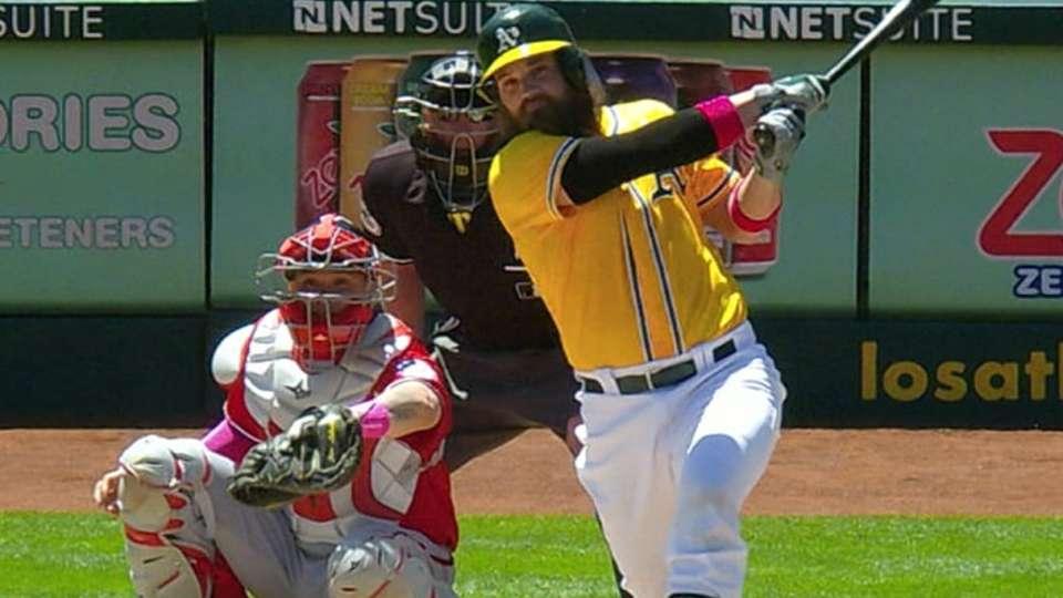 Norris hits two three-run homers