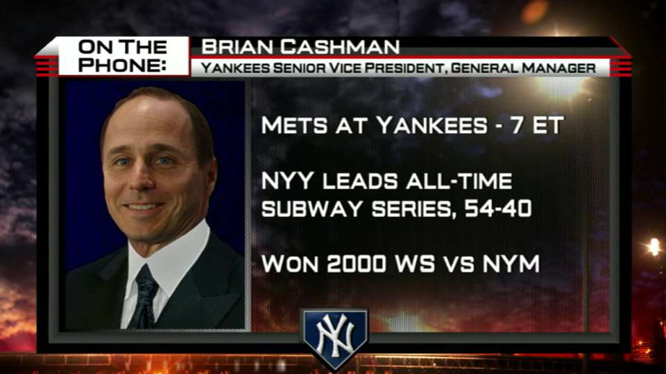 Brian Cashman joins MLB Now