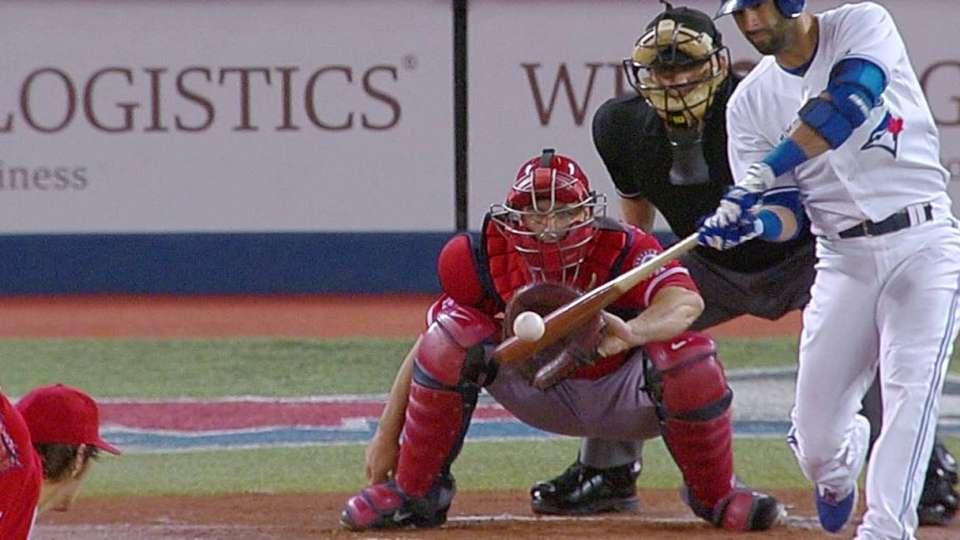 Bautista's three-run shot