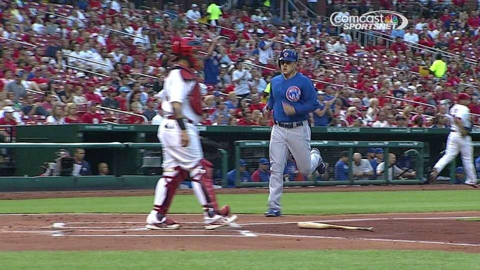 Castro's RBI triple