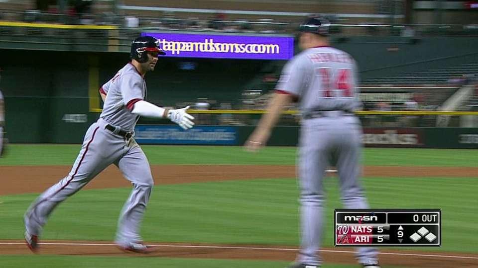 Espinosa's solo home run