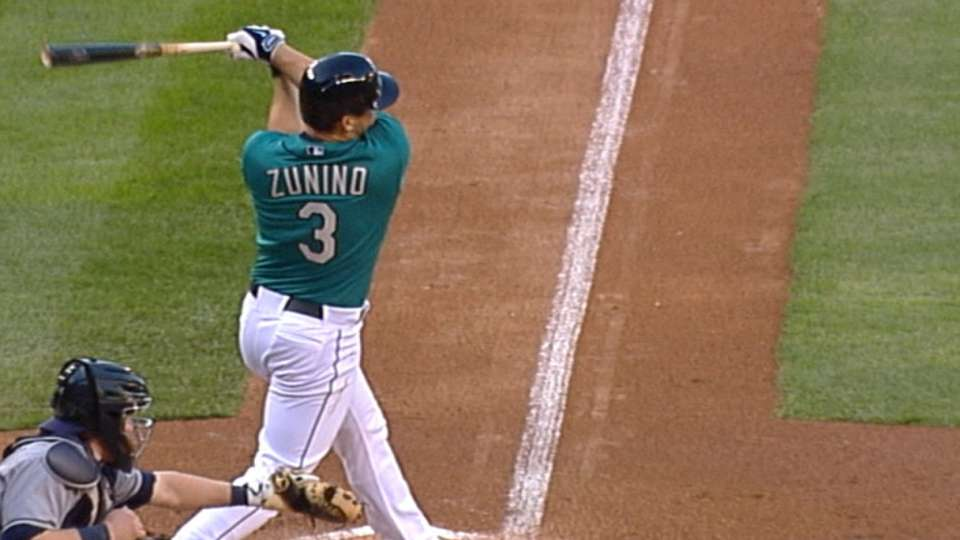 Mariners score five in the 2nd