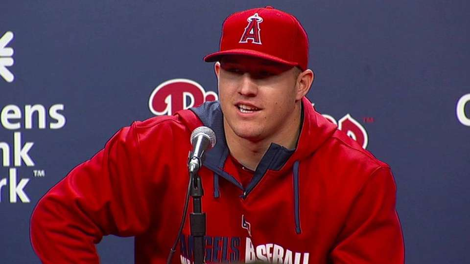 Trout on homecoming