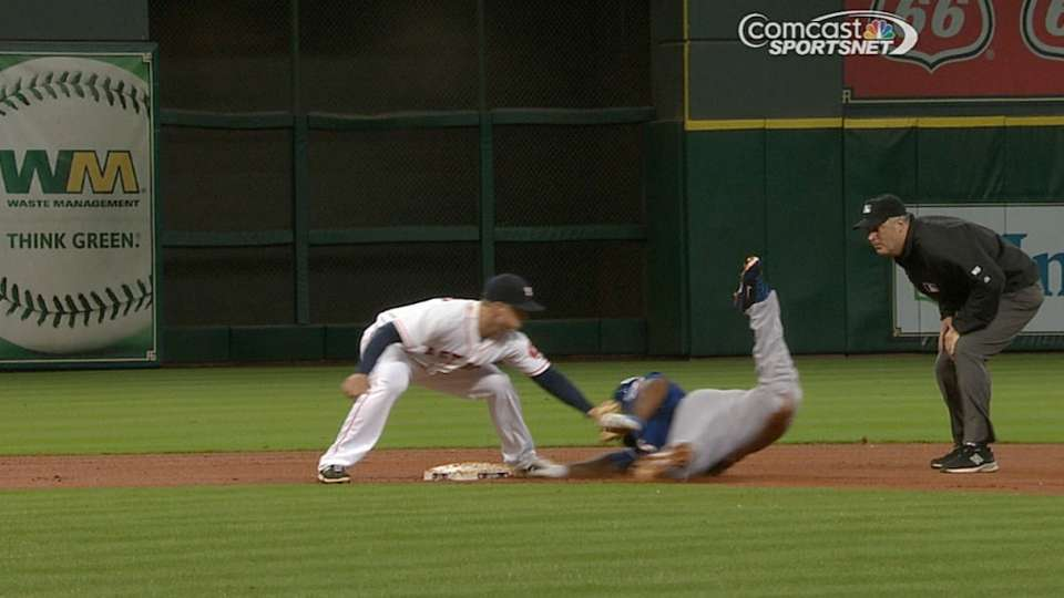 Safe call overturned at second