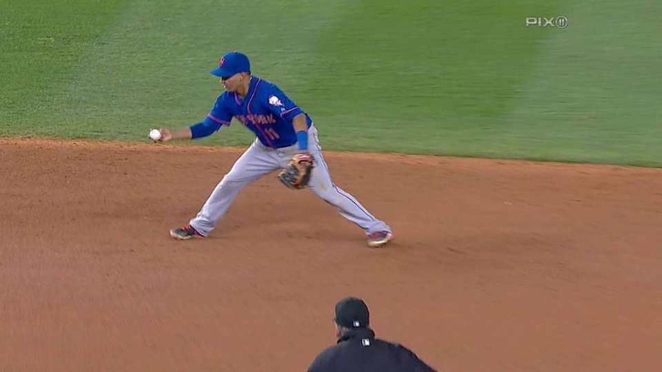 Tejada's great double play