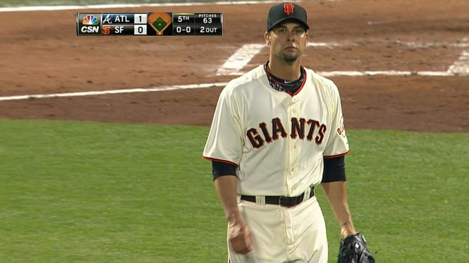 Vogelsong's eight strikeouts