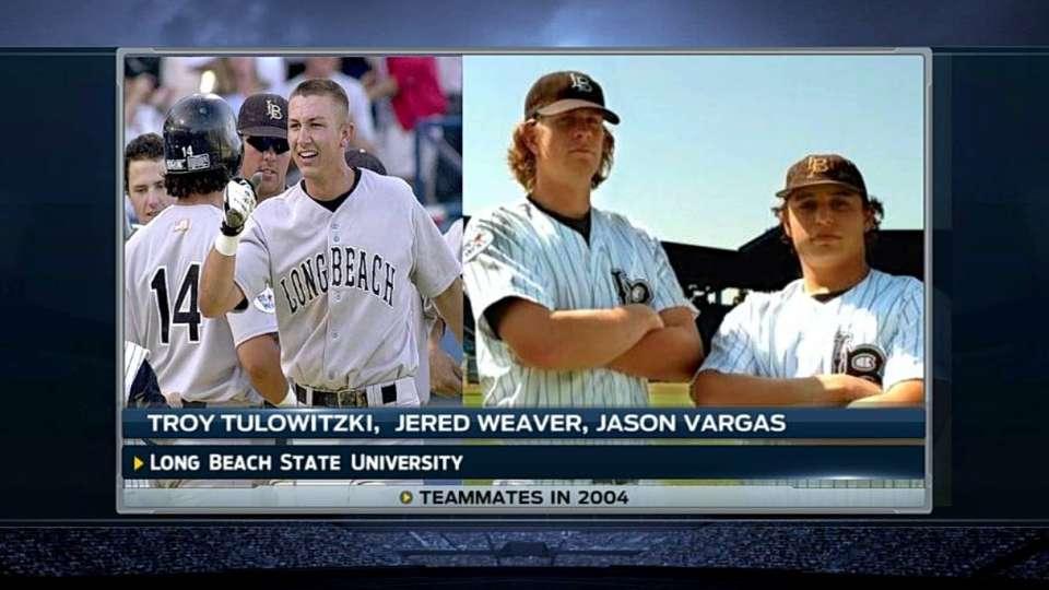 Vargas, Tulo were teammates