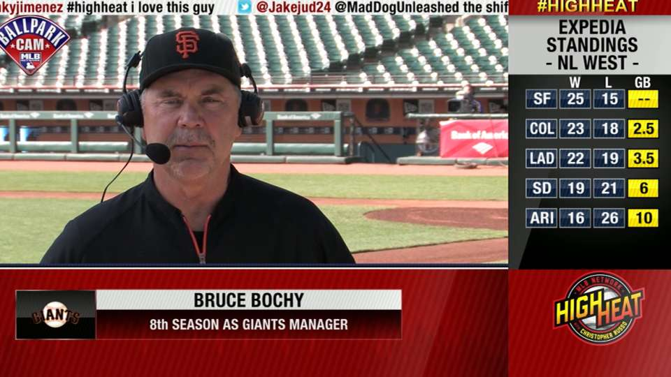 Bruce Bochy joins High Heat